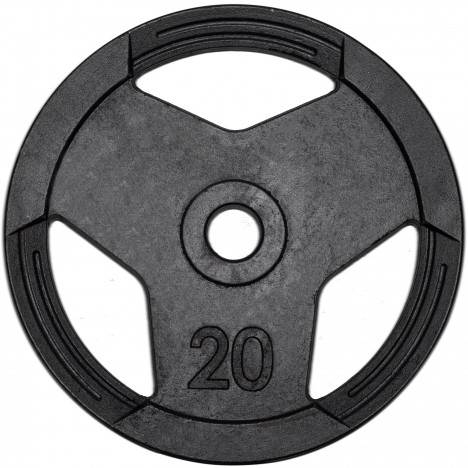 Anilha Olímpica 20kg Sport Pintada Furo 51mm MegaGym