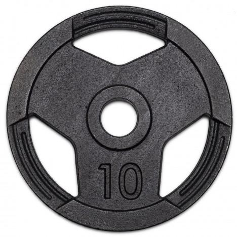 Anilha Olímpicas 10kg Sport Pintada Furo 51mm