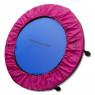 Capa Saia de Proteção Molas de Mini Jump Trampolim Academia Rosa